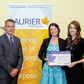 Laurier presents 2015 Philanthropy Awards and celebrates its generous donors