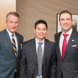 Laurier hosts Brad Katsuyama in NYC