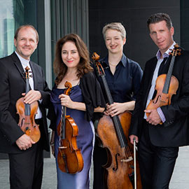 Laurier's Penderecki String Quartet opens third tour of China