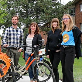 Laurier named a top performer in 2015 Sustainable Campus Index