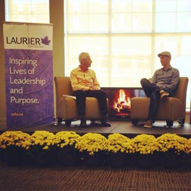 Shopify Inc. CEO talks to Laurier students about growth in Waterloo