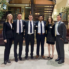 Lazaridis School students excel in ethics at ICBC
