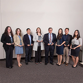 Wilfrid Laurier University Alumni Association Awards of Excellence winners