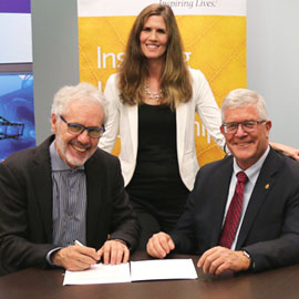 Laurier and Vancouver Film School enter innovative partnership to provide film students with both theory and hands-on skills
