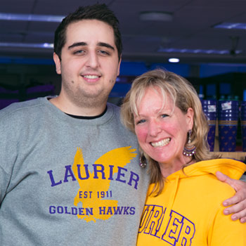 Mother-son student duo join Laurier's class of 2017 together