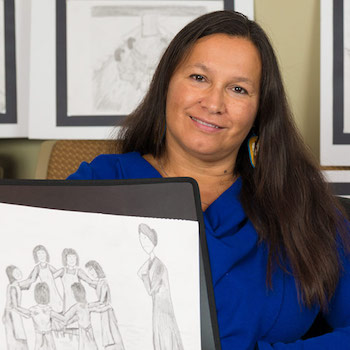 "Laurier Indigenous ""re-searcher"" shares her mother's voice in film about children's resistance at residential schools"