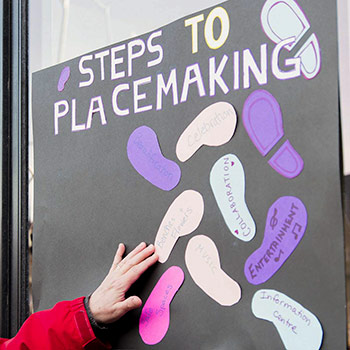Queen Street placemaking plan brings public consultation, community building to life for Laurier students