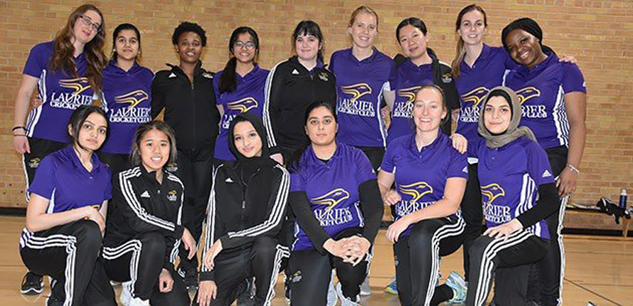Laurier women's cricket team