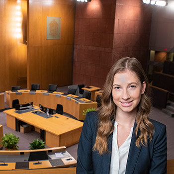 Laurier co-op student makes community impact working in City of Kitchener's Office of the Mayor and Council
