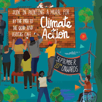 Laurier marks Global Climate Strike week with events and climate mural