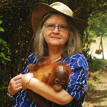 Laurier welcomes primatologist Biruté Mary Galdikas as inaugural speaker in Anne Innis Dagg Lecture Series