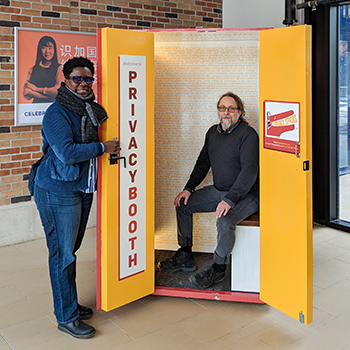 Image - Privacy Booth collects stories to teach students about digital privacy