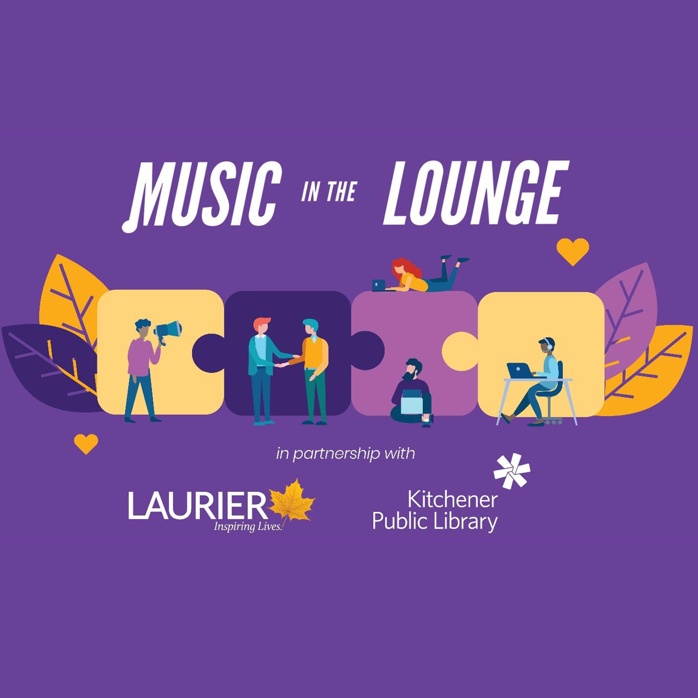 Laurier partners with Kitchener Public Library to offer a series of virtual concerts